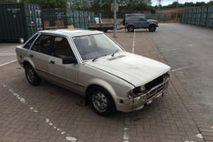 1983 FORD ESCORT GHIA AUTO 1.6 CVH MK3 PROJECT MK1 MK2 MK4 66K RUNS AND DRIVES Photo