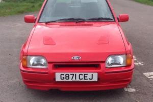 ford escort xr3i £2395.00 Photo