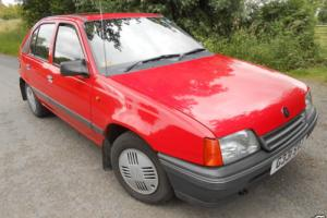 CLASSIC G1990 MK2 VAUXHALL ASTRA 1.6LX 5DR 84K, SERVICE HISTORY, MUST BE SEEN.,