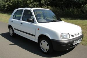 1996 NISSAN MICRA LX WHITE, ONLY 15175 GENUINE MILES FROM NEW.