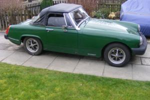 1977 MG MIDGET 1500 GREEN