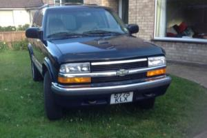 Chevrolet Blazer LHD Photo