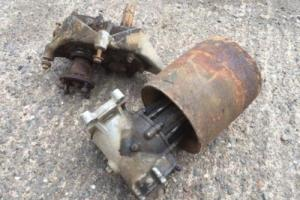 Land Rover Series 1 Rear PTO Assy with Belt Pulley