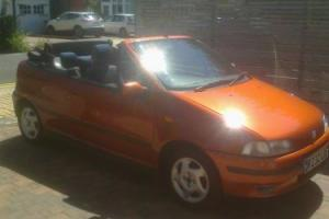 CLASSIC 1997 FIAT PUNTO ELX 16V BERTONE CONVERIBLE.LOVELY LITTLE CAR..F/S/H.MOT