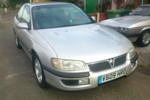 VAUXHALL OMEGA 2.0 CD AUTO SILVER 61,000 MILES F/S/H AIR CON CRUISE S/S EXHAUST