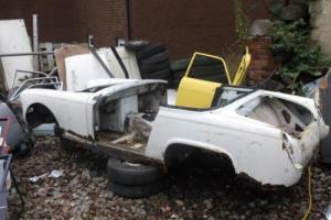 MG MIDGET BARE SHELL BODY TUB FOR REPAIR PANELS OR HILL CLIMB OFF ROAD TRACK Photo
