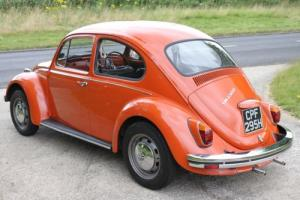 ORIGINAL AND UNTOUCHED 1970 CLASSIC VW BEETLE 1300 IN CLEMENTINE ORANGE