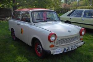 Trabant P601 Kombi (UK Registered)