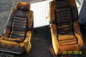 Citroen Maserati SM seats for restoration and from the 1970's
