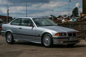 1993 BMW E36 320 I AUTO SILVER