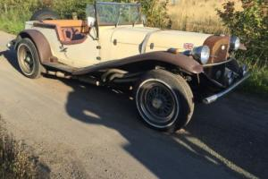 BARN FIND 1969 MERCEDES KIT CAR CREAM/BROWN FORD PINTO ENGINE