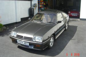 ORIGINAL 1983 VAUXHALL/OPEL MANTA GTE WAXOYLED (TETRASEAL) FROM NEW LOW MILES Photo