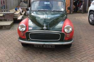 REVISED ex Military Morris Minor 1000 Traveller Chassis no 1285884