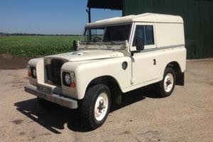 Land Rover Series 3..BODY OFF REBUILD..GALVANISED CHASSIS & BULKHEAD. Very nice.