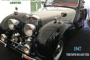 1947 TRIUMPH ROADSTER SPORTS - BERGERAC Photo