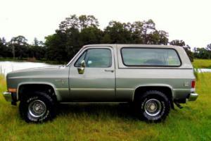 1987 Chevrolet Blazer V10 K-5 K5 BLAZER JIMMY TAHOE 4X4 BRONCO
