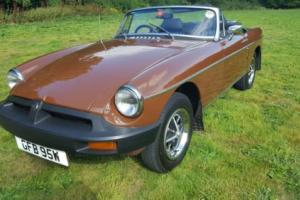 MGB ROADSTER, 52,000 miles with huge history file