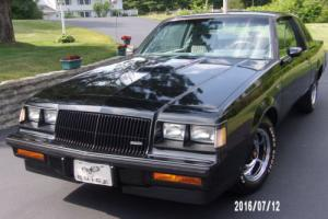 1986 Buick Grand National Photo