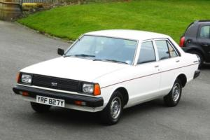 TIME WARP 1982 DATSUN SUNNY 1500 AUTO WHITE ONLY 10K MILES 1 OWNER MINT NO RESVE