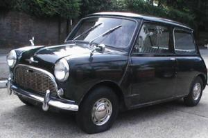 CLASSIC MORRIS MINI MINOR BARN FIND LHD, MANUFACTURED 1966, ( HYDROLASTIC )
