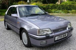 1992 VAUXHALL ASTRA GTE CABRIOLET IMPECCABLE SHOW CONDITION 24K MILES CLASSIC