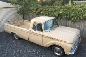 1964 Ford F100 Pickup Truck UTE V8 Automatic NOT C10 OR 1962 1963 1965 1966