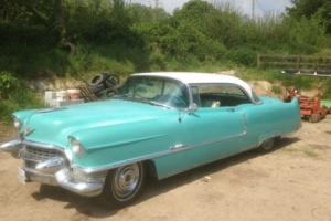 1955 cadillac coupe de ville absolutly solid californian car uk registered