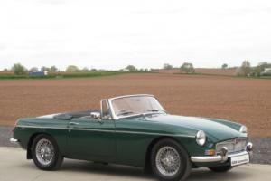 1970 MG B Roadster 1.8 - British Racing Green