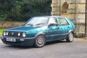 vw mk2 golf only 81k totaly rot free never welded original not gti scirocco polo