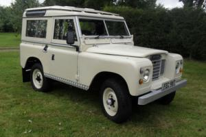 LANDROVER SERIES 3/PETROL/M.O.T./OVERDRIVE..