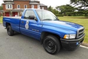 DODGE RAM. American. Classic. Military. Police. Pick Up.