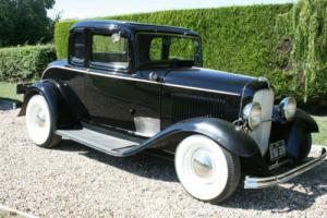 1932 Ford Model B 5 Window Coupe V8 Hot Rod . Real Henry Steel......