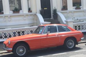 1978 MG B GT RED