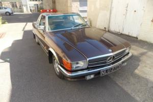 1980 Mercedes 350SL