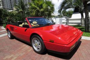 1988 Ferrari Mondial 3.2 Cabriolet (1988.5)