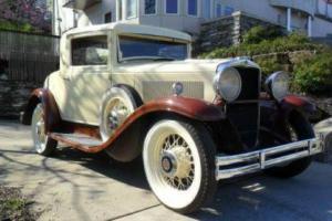 1930 Hupmobile S Coupe Photo