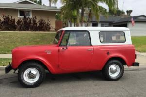 1967 International Harvester Scout 2 door removable hardtop Photo