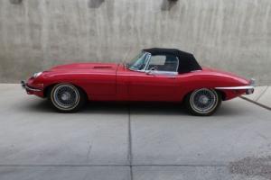 Jaguar: E-Type XKE 2 door convertible