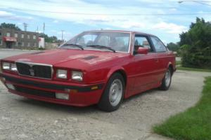 1985 Maserati Coupe
