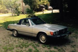 1984 Mercedes-Benz SL-Class Roadster Coupe