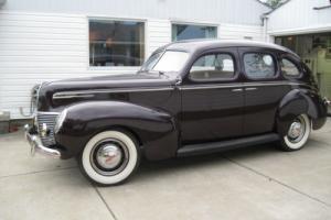 1939 Mercury 1939 Mercury Eight 4-Door Sedan Restored to Original Photo