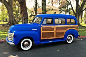 1952 Chevrolet Suburban Woody