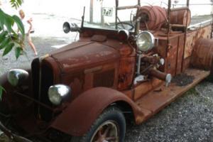 1934 Other Makes firetruck convertible :)