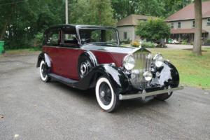1939 Rolls-Royce Wraith Park Ward Limousine Photo