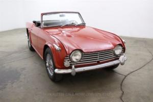 1966 Triumph TR4 A Photo