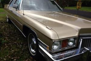 Cadillac Brougham 73 RHD in QLD