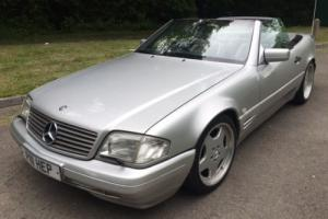 1998 MERCEDES SL 320 CONVERTIBLE AUTOMATIC