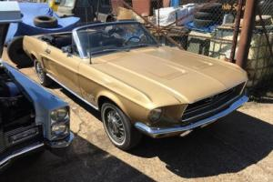 1968 Ford Mustang Convertible Photo