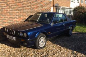 BMW E30 318i Manual Cabriolet Lots Of History 7 Owners 128K Miles