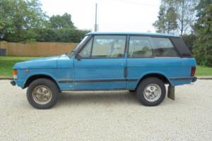 1980 Rover Rover Classic 2 doors Totally original for restoration 71k miles
